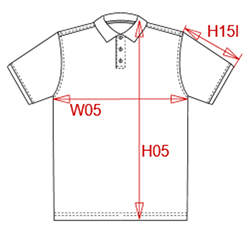 Sizing polo homme