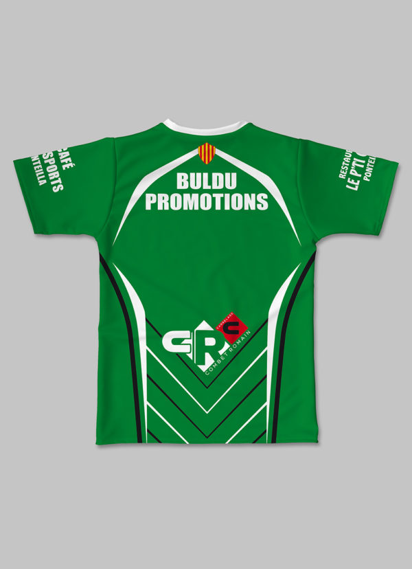 Maillot Effective RC Ponteilla 2017-2018 dos