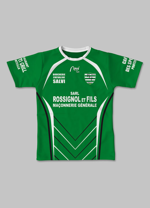 Maillot Effective RC Ponteilla 2017-2018 face