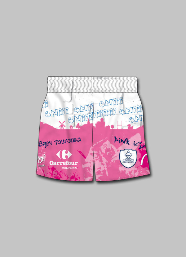Short rugby Baby Nyns 2019-2020 Street art face
