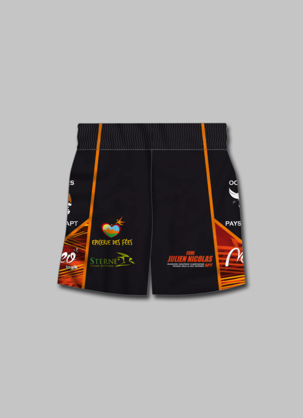 Short rugby Ocriers Pays Apt 2020 2021 dos