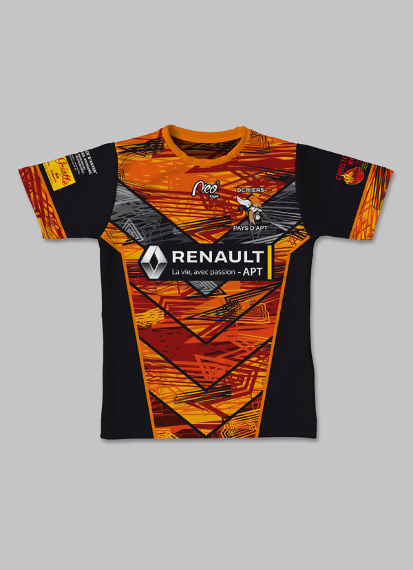 Maillot replica Ocriers Pays Apt 2018-2019 face