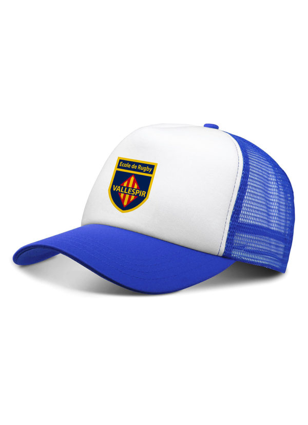 Casquette Ecole Rugby Vallespir face